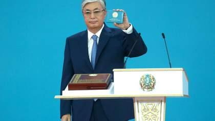 У Казахстані пройшла інавгурація нового президента Токаєва: перші фото