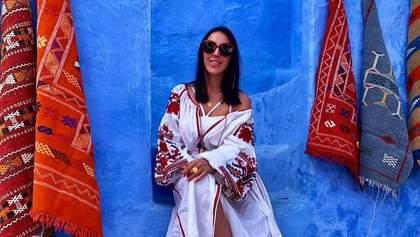 Джамала засвітила українську вишиванку на відпочинку в Марокко: фото