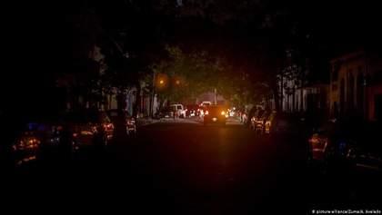 Аргентина и Уругвай почти сутки были без света: электроснабжение уже восстановили