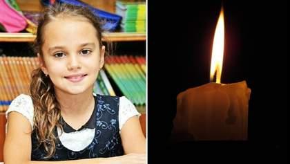 Похорон 11-річної Дарії Лук'яненко в Іванівці: фото 18+