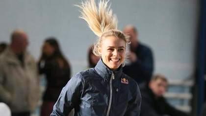 Українська легкоатлетка Юлія Левченко прокотилася на дрифт-таксі: шалене відео