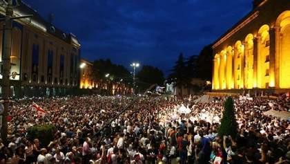 В Грузии суд освободил всех задержанных во время антироссийских протестов 21 июня