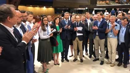 Україна і делегації ще 6 країн у ПАРЄ заявили про демарш через повернення Росії з усіма правами