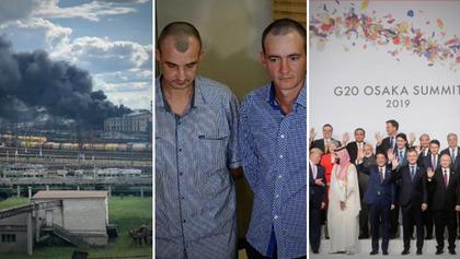 Головні новини 28 червня: Пожежа на вокзалі у Львові, звільнення полонених і саміт G20