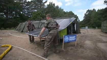 Енергозберігаючі намети та система для питної води: сучасні технології у підрозділах НАТО