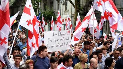 Антироссийские протесты в Грузии: тысячи людей снова вышли на улицы – фото и видео