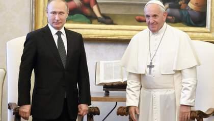 Путин встретился в Риме с Папой Франциском: о чем говорили