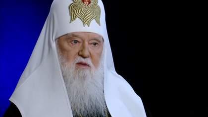 """Філарет на """"Росія 24"""" розкритикував Томос та ПЦУ"""