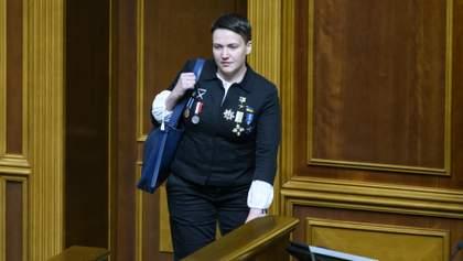 Савченко знову зібралася на окупований Донбас