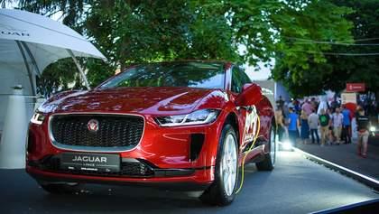 Jaguar I-Pace: у Львові представили перший преміальний електрокар компанії