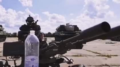 Как открыть бутылку дулом зенитки: видео мастер-класса от бойца ВСУ