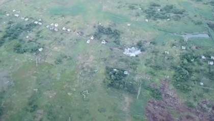 Бійці ЗСУ розгромили позицію бойовиків біля Горлівки: яскраве відео