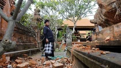Балі сколихнув сильний землетрус, є поранені: фото, відео