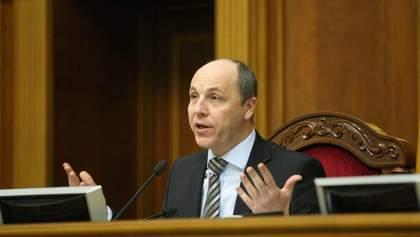 Парубій висунув Зеленському умову для проведення позачергової сесії Ради