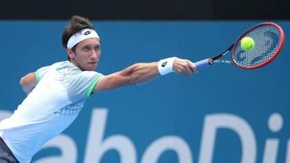 Стаховский в напряженном матче вышел в финал турнира серии ATP в США