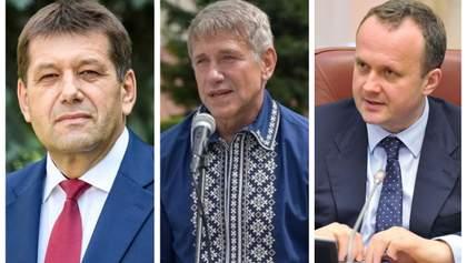Вибори в Раду програли двоє міністрів та віце-прем'єр