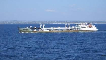 Появилось видео задержания танкера NEYMA