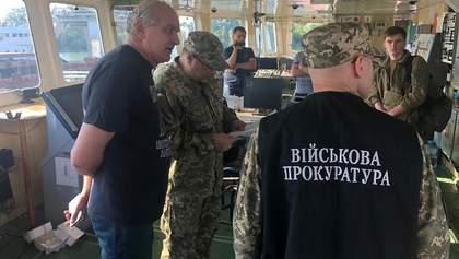 СБУ затримала 10 членів екіпажу російського танкера NEYMA