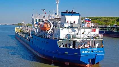 У США схвально відгукнулись про затримання Україною російського танкера NEYMA