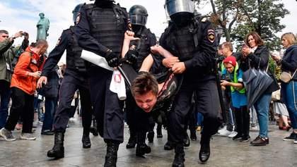 Понад 1000 затриманих, з яких 50 – діти: підсумки протестів у Москві 3 серпня