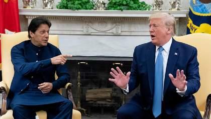 Пакистан просить у Трампа допомогти врегулювати конфлікт з Індією