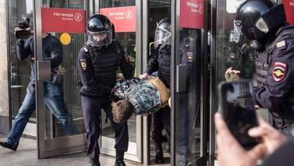Протести за чесні вибори в Москві: Росія звинуватила у всьому американців