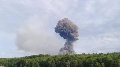 У Росії під Ачинськом вибухнув склад з боєприпасами: що відомо – фото, відео