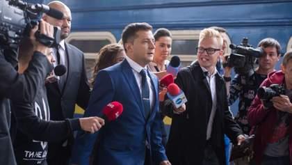"""Стосунки """"Зе-команди"""" з журналістами: як прагне спілкуватися з населенням Зеленський"""