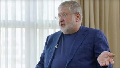 """В ответ на пост о Глуховере Коломойский бросил Зеленскому шутку про """"наших бьют"""""""