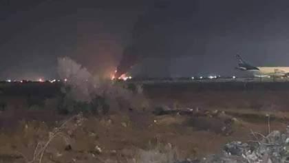 Український літак з гуманітарним вантажем знищили у Лівії: фото, відео