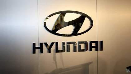 Hyundai показала машину на солнечных панелях