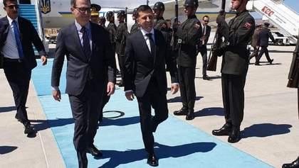 Зеленский с первым официальным визитом в Турции – главные новости, фото и видео