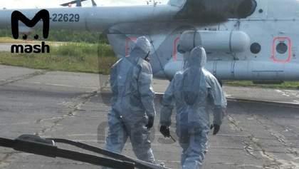 Вибух під Архангельськом: медики в протирадіаційних костюмах привезли постраждалих у Москву