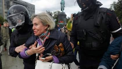 Що не так з реакцією українців на протести в Москві?