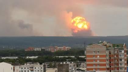 Нові вибухи на складі боєприпасів під Ачинськом: у Росії уточнили кількість постраждалих