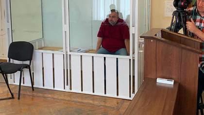 Вслед за Грымчаком суд избрал меру пресечения его помощнику Овдиенко