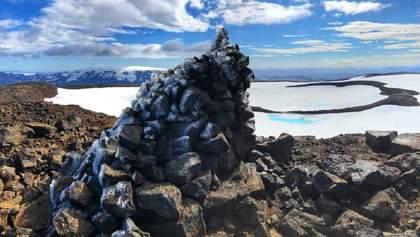"""В Исландии """"похоронили"""" первый ледник, который исчез в результате климатических изменений"""