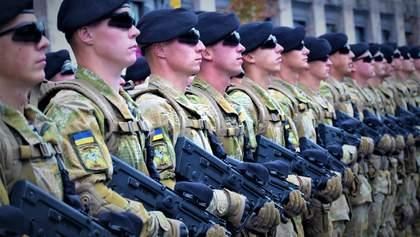 Сколько в ВСУ профессиональных военных и служат ли строковики в ООС: комментарий Полторака