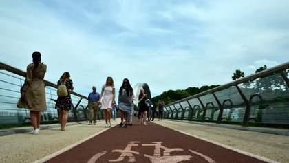 """Нова напасть: у """"мості Кличка"""" завелись мухи – відео"""