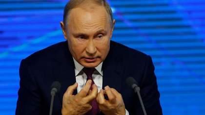 Путін вперше зреагував на масові протести в Росії