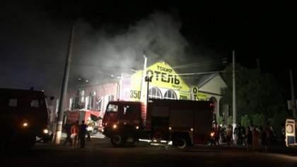 """Пожар в Одессе в """"Токио Стар"""": отель был зарегистрирован как склад"""