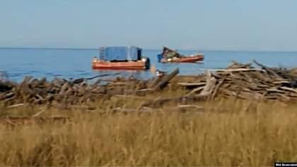 Вибух і радіація під Архангельськом: перші фото і відео з місця інциденту