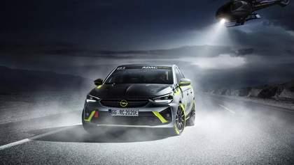 Opel представит первый в мире раллийный электрокар