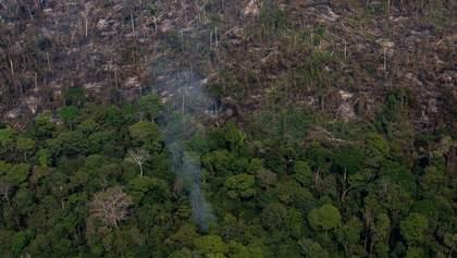 Масштабные пожары в Амазонии: президент Бразилии отказался от помощи G7