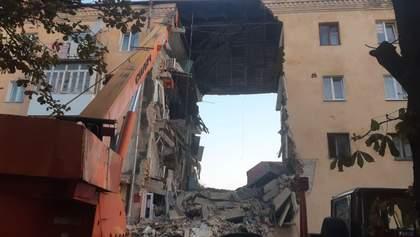 Смертельный взрыв в многоэтажке в Дрогобыче: фото и видео последствий