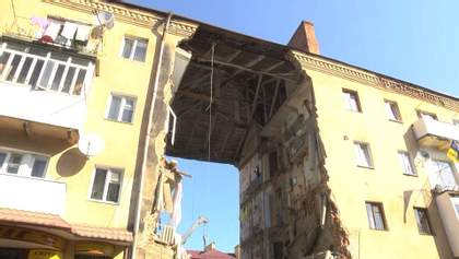 Трагедия в Дрогобыче: на месте инцидента произошел обвал плиты