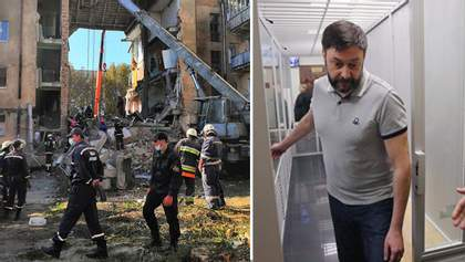Головні новини за 28 серпня: Обвал будинку у Дрогобичі, Вишинського випустили з-під варти