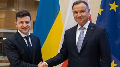 С президентами каких стран встретится Зеленский в Польше: интересные данные
