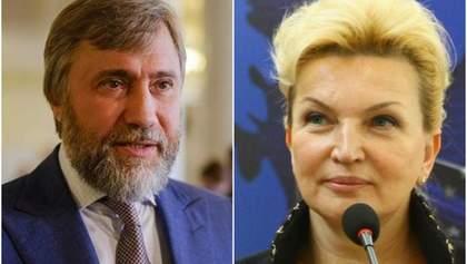 Новинський вніс 6 мільйонів гривень застави за Богатирьову і вона вийшла на волю