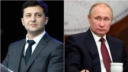 Путин пригласит Зеленского в Москву в 2020 году: детали